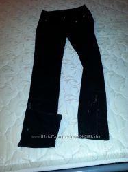 Стильные джинсы со съемными подтяжками. Для стройной девушки