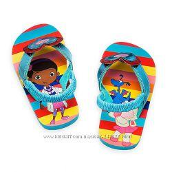 Шлёпки Disney Flip Flops Доктор Плюшева 22й размер