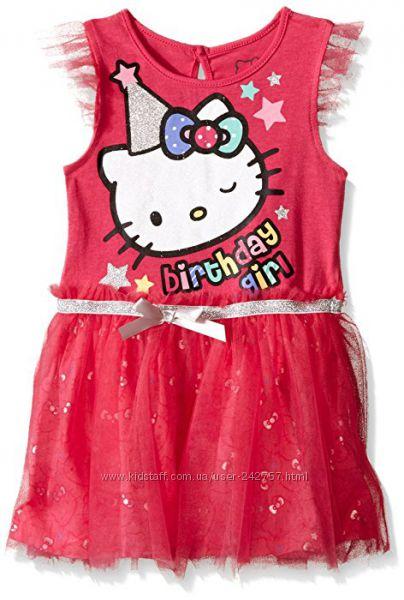 Нарядное платье HELLO KITTY  Оригинал для Дня рождения. На 2 года.