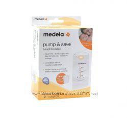 Пакеты для хранения и замораживания грудного молока Medela Pump & Save 50 ш