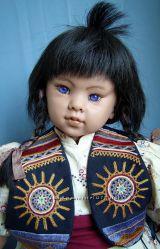 Коллекционная кукла Suzi от Rotraut Schrott - 75 см