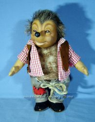Кукла еж, ежик Mecki, немецкий Steiff Германия 26 см