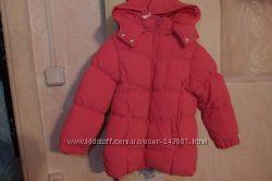 Теплое новое пальто 15 мес chicco