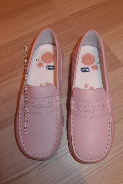 Туфли кожаные  34 размер Chicco