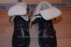 термо ботинки 32, размер Chicco , новые