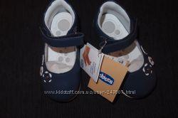 Туфли новые  Chicco 20, 21, 23 размеры