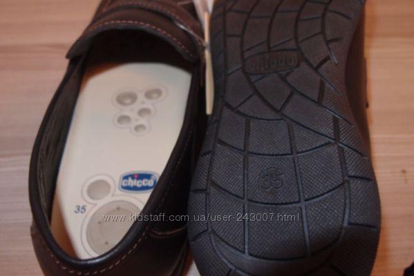Туфли кожаные  28 размер Chicco