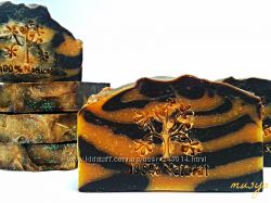 Натуральное мыло с нуля Шоколад и апельсин
