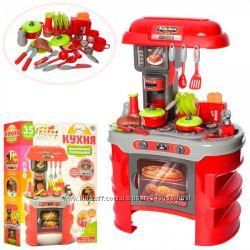Детские игровые кухни с посудкой и продуктами
