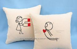 Декоративные подушки за 2шт 140грн