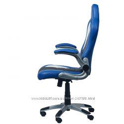 Кресло геймерское Daytona  blue BK WH BL 3303 Goodwin