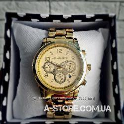 Часы Michael Kors с датой. Фабричное качество. 3 цвета