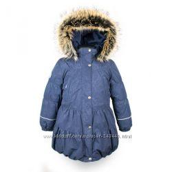 Пальто зимние Lenne alise для девочек р. 104, 110, 116, 122, 128, 134 , 140