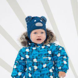 Вязаная, теплая зимняя шапка   Lenne Brethe р. 46, 48, 50, 52