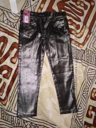 Блестящие джинсы на 5 лет из Англии