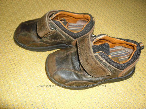 Кожаные ботинки HUSH Puppies, стелька 14, 6см