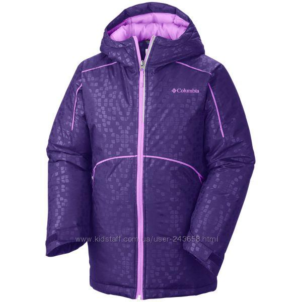 Зимняя куртка Columbia для девочки, размер М 10-12. Бу