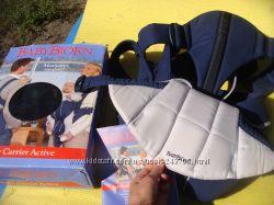 Рюкзак-кенгуру BabyBjorn для активной мамочки удобный, практичный, стильный