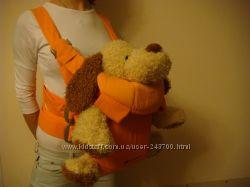 Уникальный оранжевый рюкзак-кенгуру Cybex i. go от рождения до двух лет