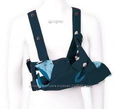 Красивый ортопедический 2в1 рюкзак-кенгуру и переноска Cybex i. go 0-2года