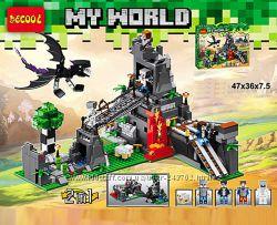 Конструкторы для мальчиков и девочек Minecraft, Ninjago, City, Friends,