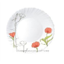 Тарелки, салатники люминарк- в ассортименте, акции