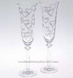 Набор бокалов для шампанского 190 мл2шт Bohemia Angela