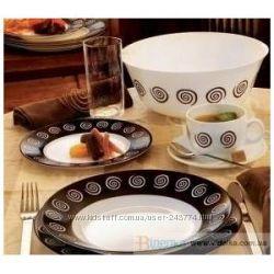 Сервиз столовый Luminarc Sirocco Brown  19пр - низкие цены
