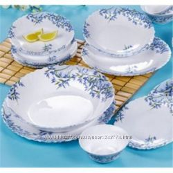 Сервиз столовый 19пр Arcopal Aliya Blue L7785