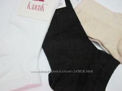 Носочки женские короткие однотонные