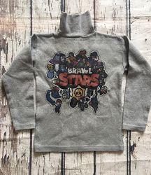 Водолазка Бравл Старс, герои игры Braw Stars, кофта Бравл Старс