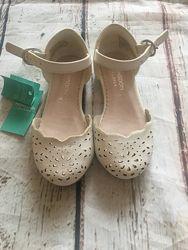 Туфли детские на 1 сентября для девочки