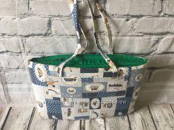 Пляжная сумка коврик детский, пляжная подстилка мягкая, сумка матрасик