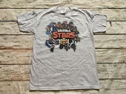 Футболка Brawl Stars, герои Бравел Старс, игра Brawl Stars