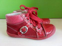 Фирменные, замшевые  ботиночки Richter