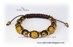 Самые красивые браслеты Шамбала из натуральных камней и кристаллов. Скидки.