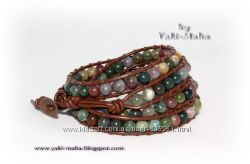 Шикарный браслет Chan Luu из яшмы