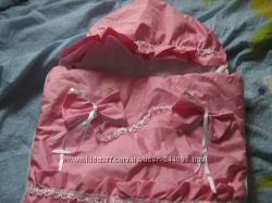 Весенне-осенний конверт для новорожденного