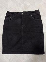 Юбка джинсовая, стрейч