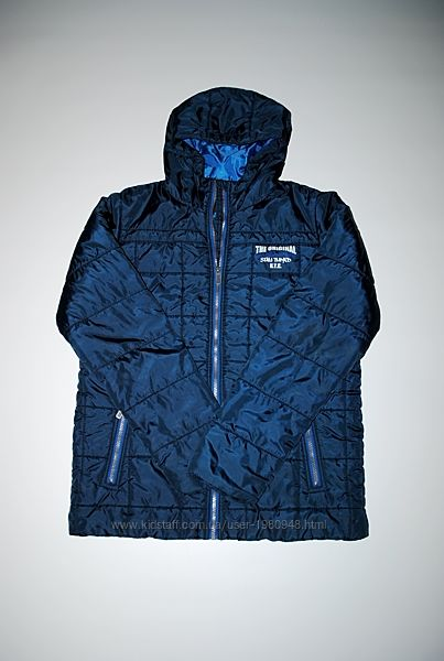 Куртка мужская синяя демисезон пуховик бренд Швейцария M / S