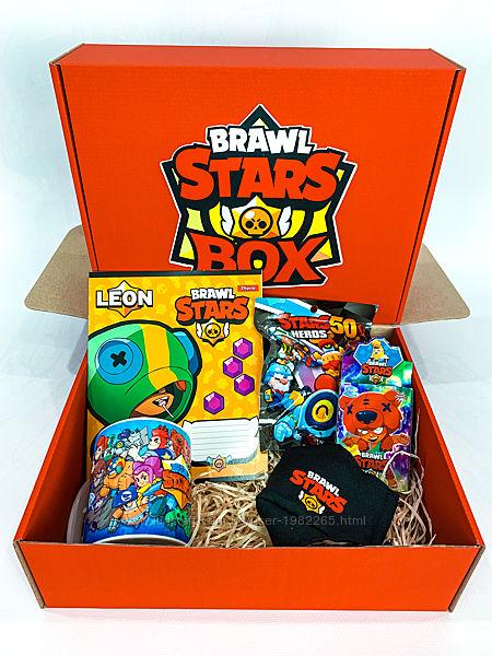 Brawl Stars Box Подарочный Бравл Старс Бокс - Мега Ящик Mini Box