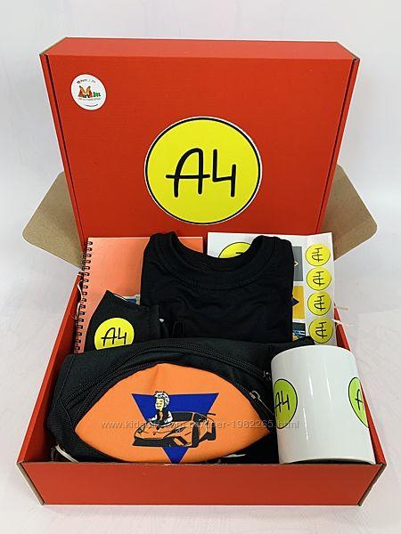 А4 набор - Подарочный Бокс Влад бумага А 4