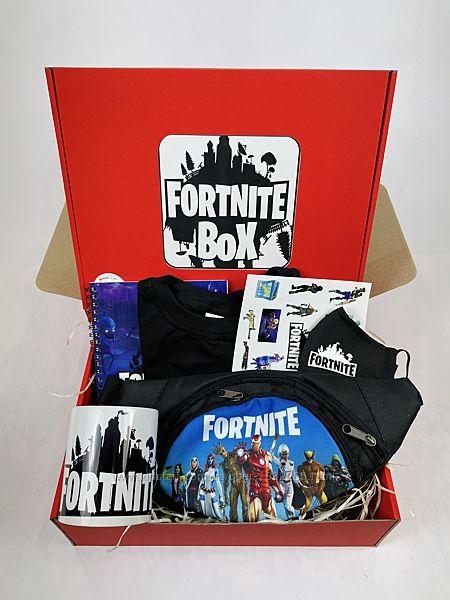 Набор Fortnite Box Фортанйт Бокс бананка футболка