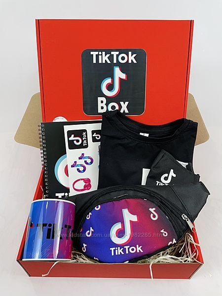 Набор TikTok Box бананка футболка подарок для девочки