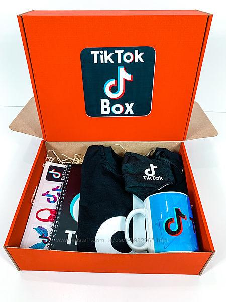 Набор TikTok box  Тик Ток футболка