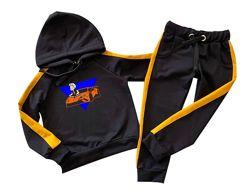 Спортивный костюм А4 Влад бумага с лампасами