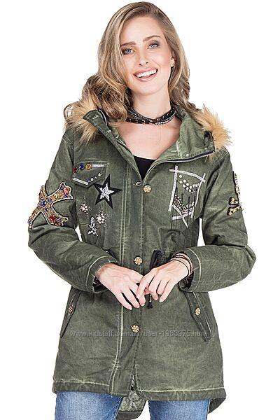 Куртка - парка женская демисезонная Cipo&Baxx Турция