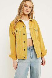 Американская джинсовая куртка оверсайз бойфренд bdg джинсовка levis