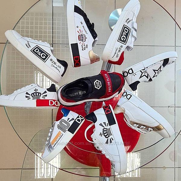 Большой выбор брендовых кожаных кроссовок