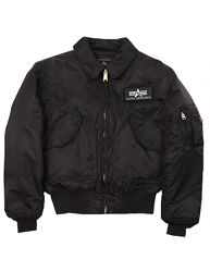 Куртка пилот бомпер Alpha Industries CWU 45/P Flight Jacket